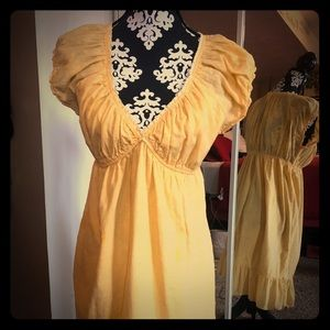 Darling Yellow Dress